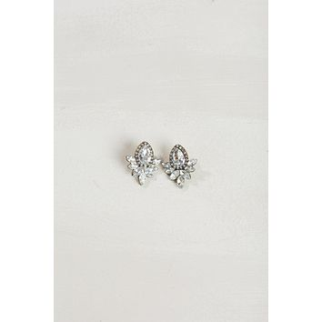 Christine Crystal Statement Earrings