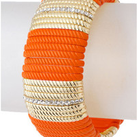Orange Bar Bracelet - My Jewel Candy