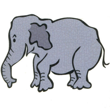 ELEPHANT Temporary Tattoo 2x2