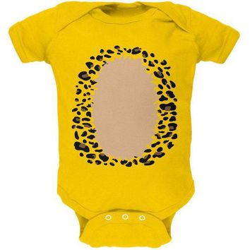 CREYCY8 Halloween Leopard Costume Soft Baby One Piece