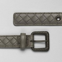 Shadow Intrecciato Nappa Belt - Women's Bottega Veneta® Belt - Shop at the Official Online Store