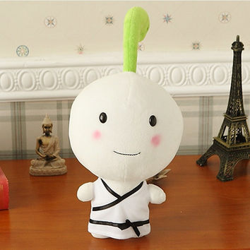 girls with a whirlwind grass plush toy doll doll July 7th day birthday gift Qi Baicao girls