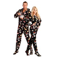 Sushi printed Footed Pajamas - worlds best Pajamas