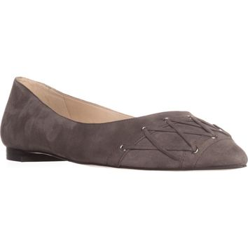 Nine West Alyssum Ballet Flats, Dark Grey, 10.5 US