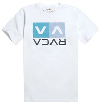 RVCA Stripe Box T-Shirt - Mens Tee
