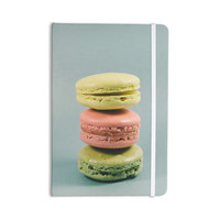 "Nastasia Cook ""Blue Macarons"" Dessert Everything Notebook"