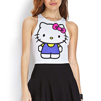 Hello Kitty Cropped Tank