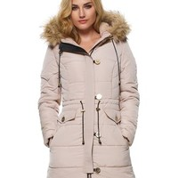 Lipsy Quilted Parka Puffer Jacket