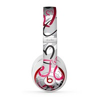 The Vector Love Hearts Collage Skin for the Beats by Dre Studio (2013+ Version) Headphones