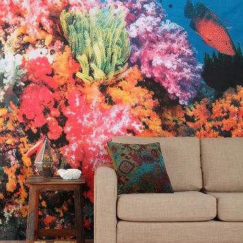 Magical Thinking Coral Reef Tapestry