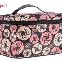 Women's Attractive Portable Makeup Tool Cosmetic Handbag Makeup Bag