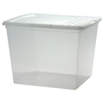 Clear Plastic Box - Deep Sweater