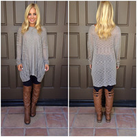Knitty Gritty Sweater To - TAUPE