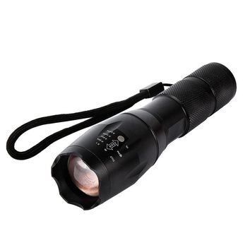 Ultra Bright Mode Zoomable Led Flashlight