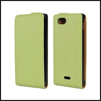 Phone Accessory For Sony Xperia J St26i Flip Cover Genuine Leather Wallet Smartphone Bag For Sony Xperia J St26i Case