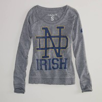 Notre Dame Vintage Long Sleeve T | American Eagle Outfitters
