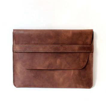 For iPad Case, Vintage Leather iPad Sleeve, iPad 1,2,3,4