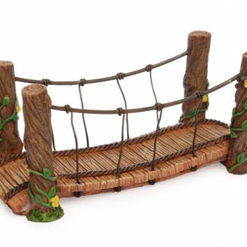 MHG Fairy Garden Rope Bridge