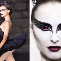 Black Swan Costume with Wings by Deconstructress on Etsy