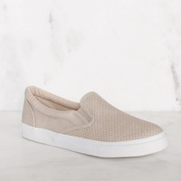 Second Nature Slip-On Sneakers - Clay
