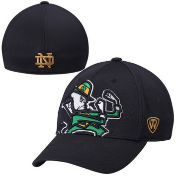Notre Dame Fighting Irish Top of the World Offsides Memory Fit Flex Hat – Blue