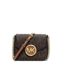 Fulton Logo Small Crossbody | Michael Kors