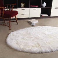 Longwool 6ftx9ft Oval Area Rug design by Bowron