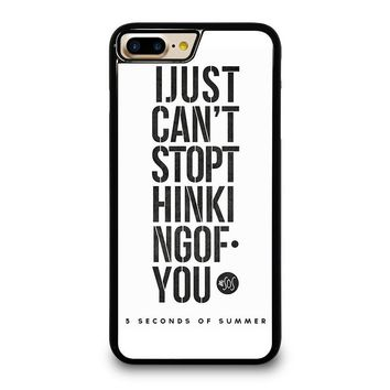 5 SECONDS OF SUMMER 6 5SOS iPhone 4/4S 5/5S/SE 5C 6/6S 7 8 Plus X Case