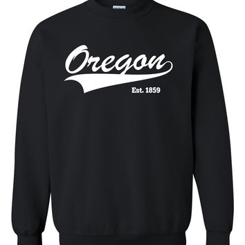 Oregon Crewneck Sweatshirt