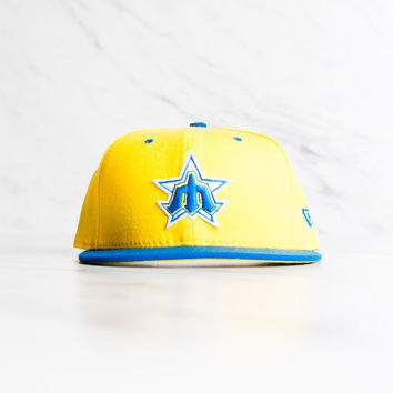 New Era Seattle Mariners 59 Fifty - 'Yellow/Blue'