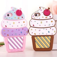 Ice Cream Shape Phone Case Cover for iPhone 6S & iPhone 6S Plus
