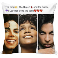 Michael Jackson, Whitney Houston, Prince