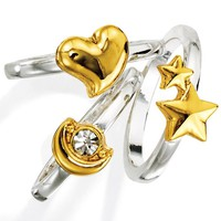 Many Wishes 3-Piece Stackable Ring Set