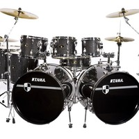 Tama Imperialstar 8-Piece Double Bass Drum Set with Cymbals | Music123