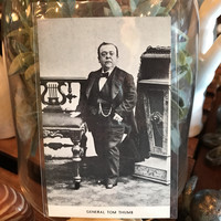 General Tom Thumb Postcard
