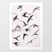 Flight Art Print by Georgiana Paraschiv
