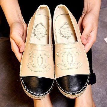 Chanel Fashion Espadrilles For Women Shoes Three-Colour