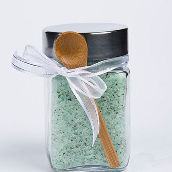 Bath Salts, Sea Salt, Scented Spa Salts- 1 jar, 10 oz