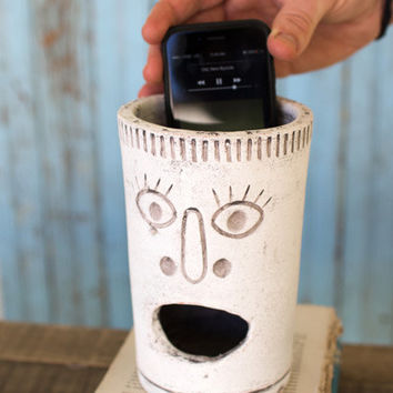 Clay Big Mouth Speaker