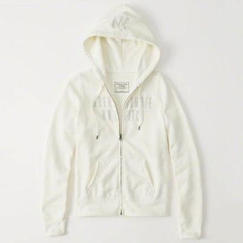 Trendsetter Abercrombie & Fitch Women  Fashion Casual Cardigan Jacket Coat Hoodie