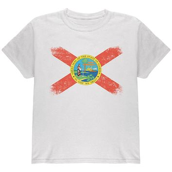 Born and Raised Florida State Flag Youth T Shirt