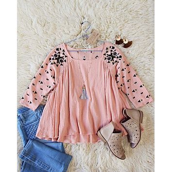 The James Top in Pink