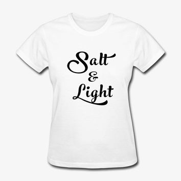 Salt & Light Matthew 5:13-14 | Christian | Faith T-Shirt | Christian Life Apparel