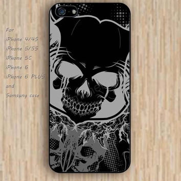 iPhone 5s 6 case colorful skull phone case iphone case,ipod case,samsung galaxy case available plastic rubber case waterproof B385