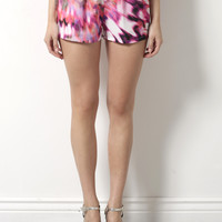 Gab & Kate Technicolor Shorts- Pink
