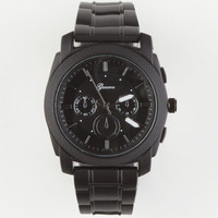 Geneva Matte Chrono Watch Matte Black One Size For Men 24130118201