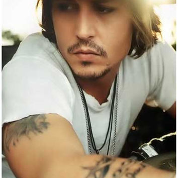 Johnny Depp Sunday Morning Portrait Poster 11x17