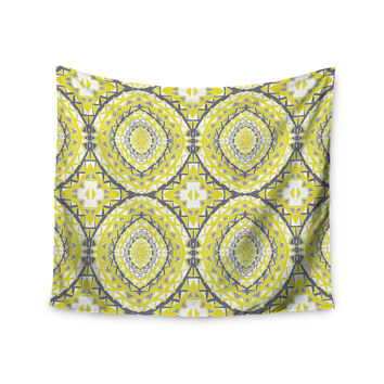 "Miranda Mol ""Yellow Tessellation"" Wall Tapestry"