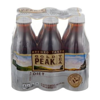 Gold Peak Iced Tea Diet Bottles - 6 CT - Walmart.com