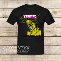 The Cramps Bad Music For Bad People on T shirt